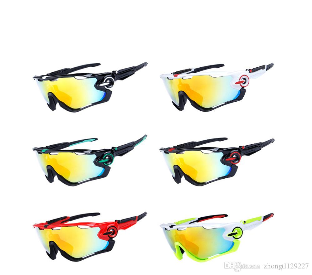b45486b02f Polarized Cycling Bike Sun Glasses Jaw Breaker Outdoor Sports ...