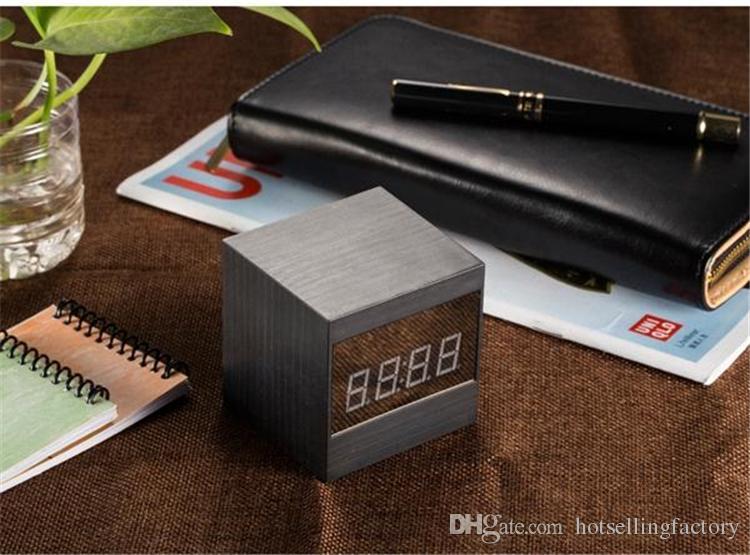 New HD 1080P IR Night Version Mini Camera Wifi Alarm Clock Camera Table Clock Camcorder P2P Video Recorder Motion Detection Nanny Cam