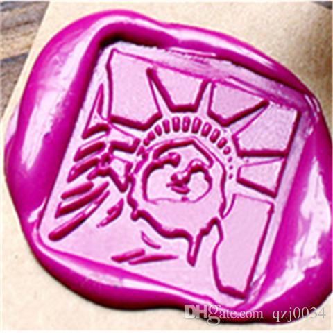 Vintage Wax Seal Stamp Statue Of Liberty Wax Seal Wedding