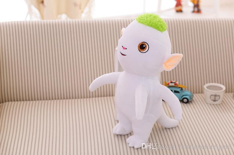 2018 the monster hunt the cute hoopa wuba 25cm stuffed plush toy