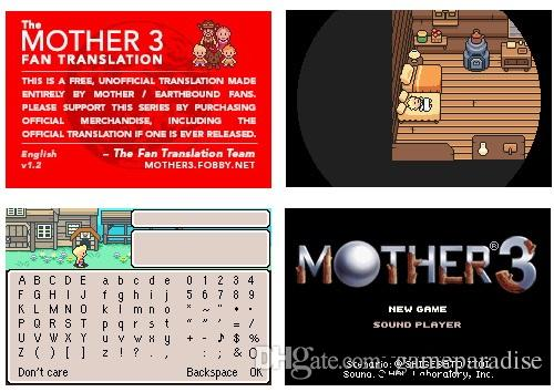 New brand Freee shipping Classic games / Chip saving mode / Without battery  / USA&EUR version both --mother3