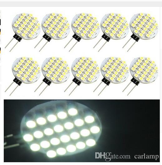 100X Led Marine Boat Camper G4 9SMD 15SMD 24SMD 27SMD Home Reading Light Bulbs Light Energy Saving Corn Lamp