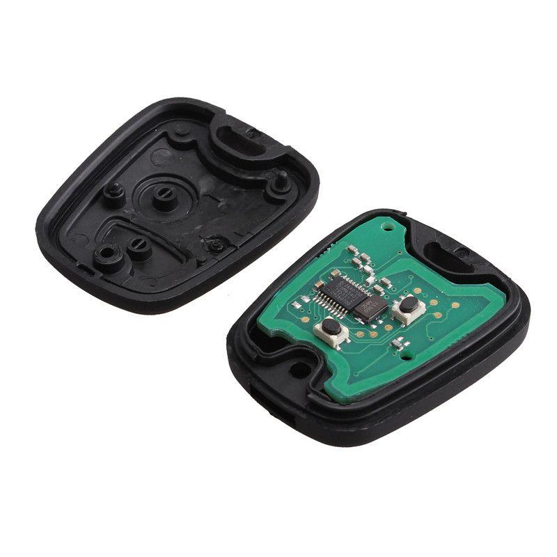 433MHZ 2 pulsanti FOB Remote Key NE73 PEUGEOT 206 con chip transponder PCF7961