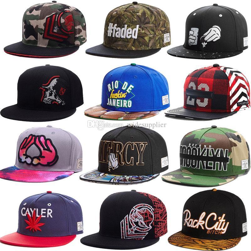 Compre 1260 Estilos Popular HipHop Snapback Sombreros Gorras De Béisbol  Para Hombres Mujeres Casquette Sport Hip Hop Gorra De Baloncesto Ajustable  Sombrero ... d6de50b53d2