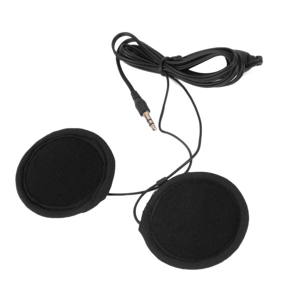 Motocicleta Capacete Interfone Interphone Headset Motor de Navegação GPS Headphone Intercomunicador Motocicleta Fone de Ouvido