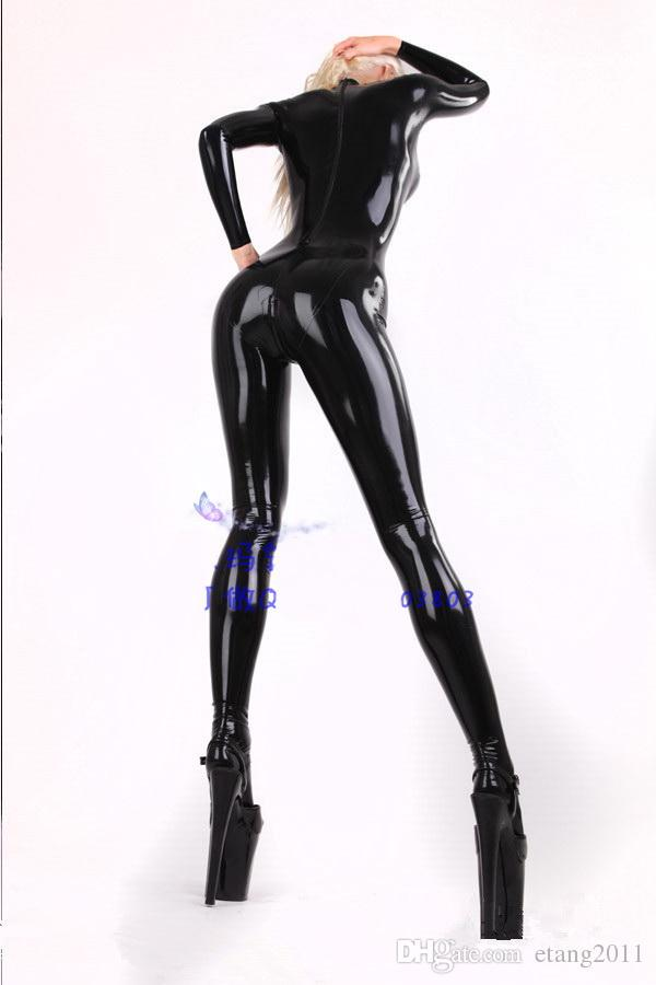 2016 Bdsm Cosplay transparent Zentai & Catsuit Costumes latex sexy toys jumpsuit