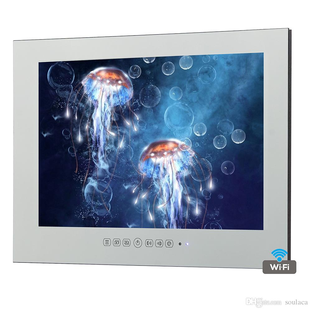 32 Inch Big Screen Television Smart Shower Box Wall Mounted ...