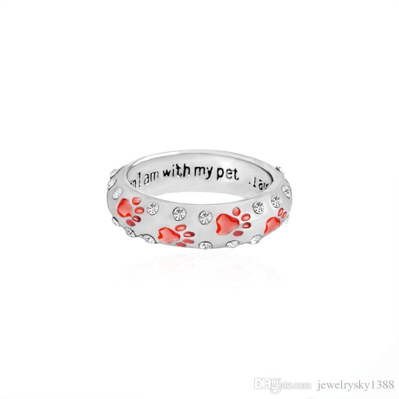 패션 금속 라인 석 손 탬프 된 발 인쇄