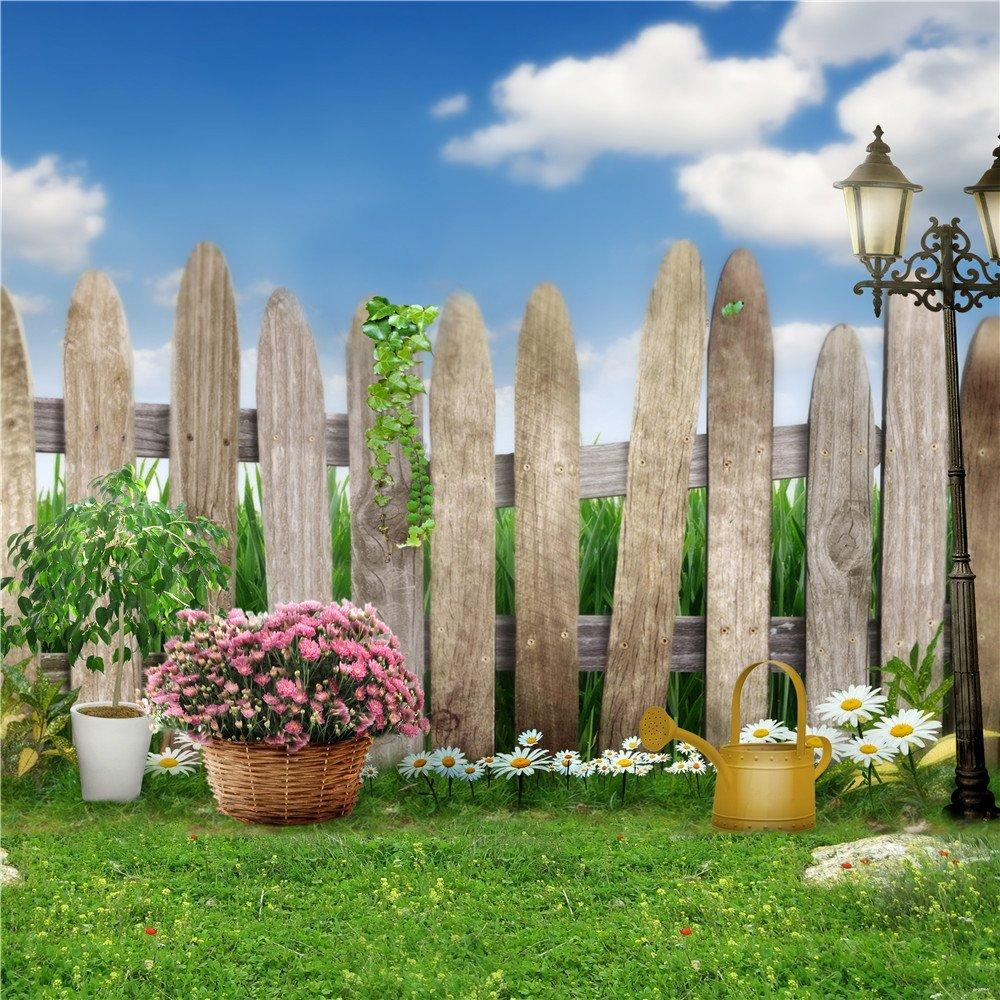 outdoor backgrounds. Fine Backgrounds 2018 Baby Newborn Photography Background Blue Sky Wooden Fence Green  Grassland Garden Flowers Kids Children Outdoor Scenic Photo Shoot Backdrops From  Intended Backgrounds