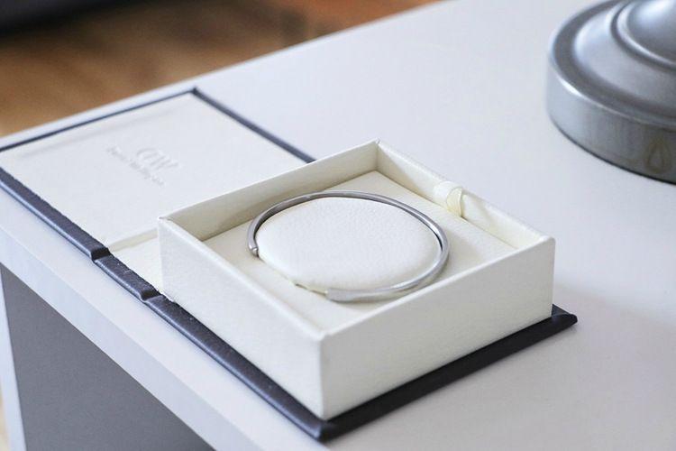 Box for DW Bangle Women Men Size Open PU Leather Premium Jewelry Box