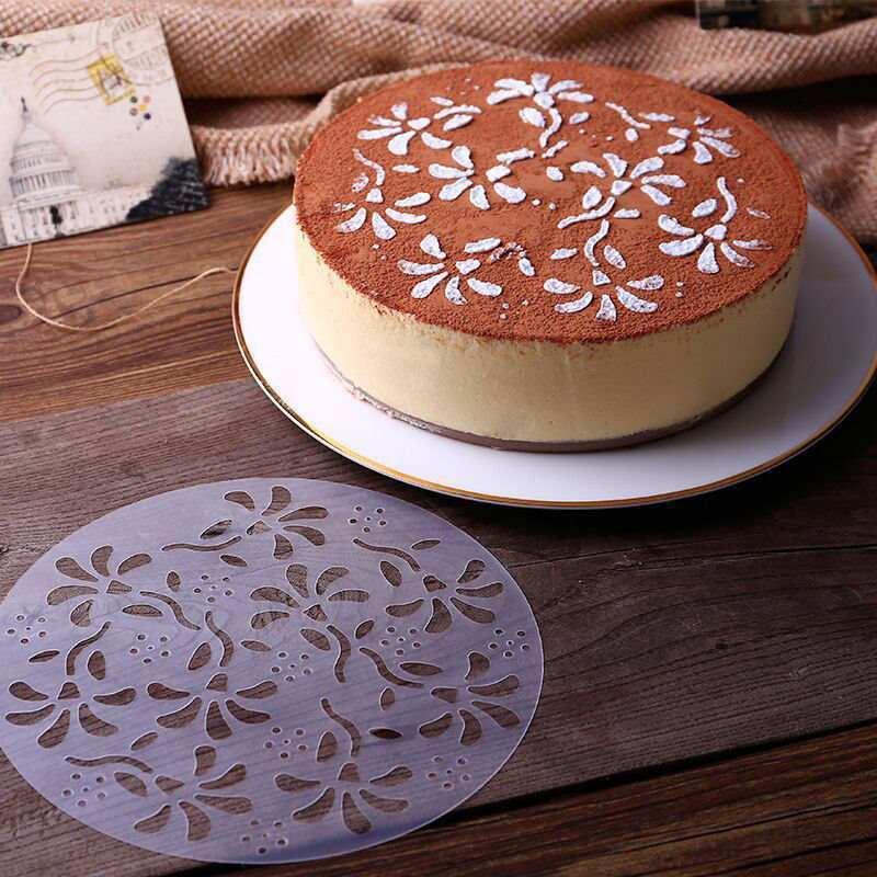 Grosshandel Grossverkauf Blumen Muster Kuchen Kaffee Schokoglasur