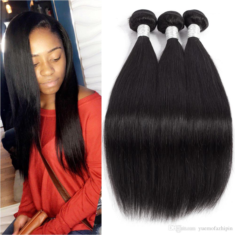 Grace Length Hair 7a Brazilian Virgin Straight Of Human Hair