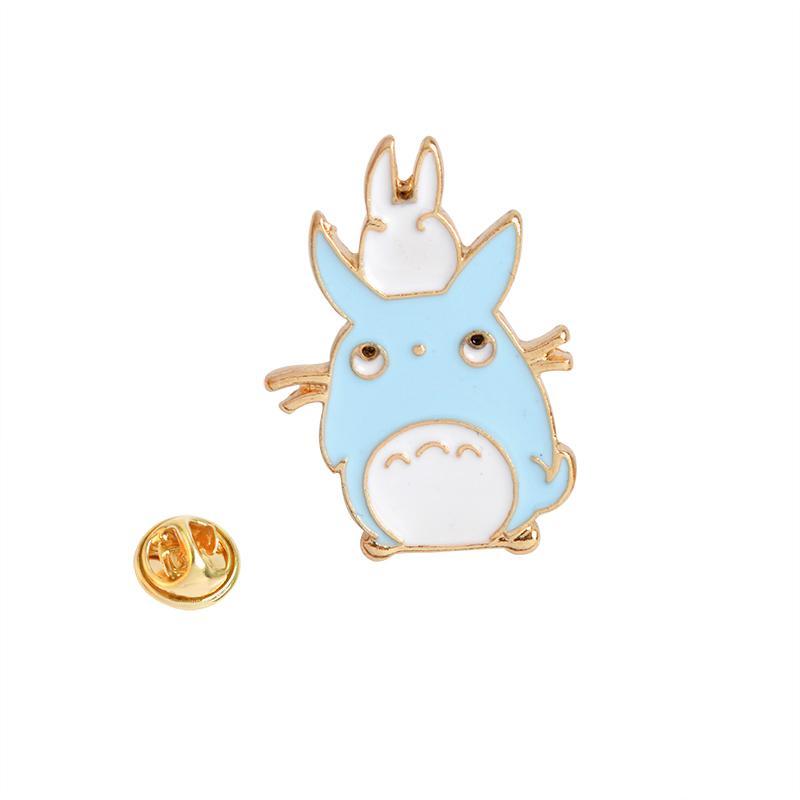 1 stücke Mein Nachbar Totoro serie Brosche Für Frauen Männer Kind Kind Kawaii Pet Animal Broschen Pins Tasche Jacke Kragen Abzeichen Schmuck