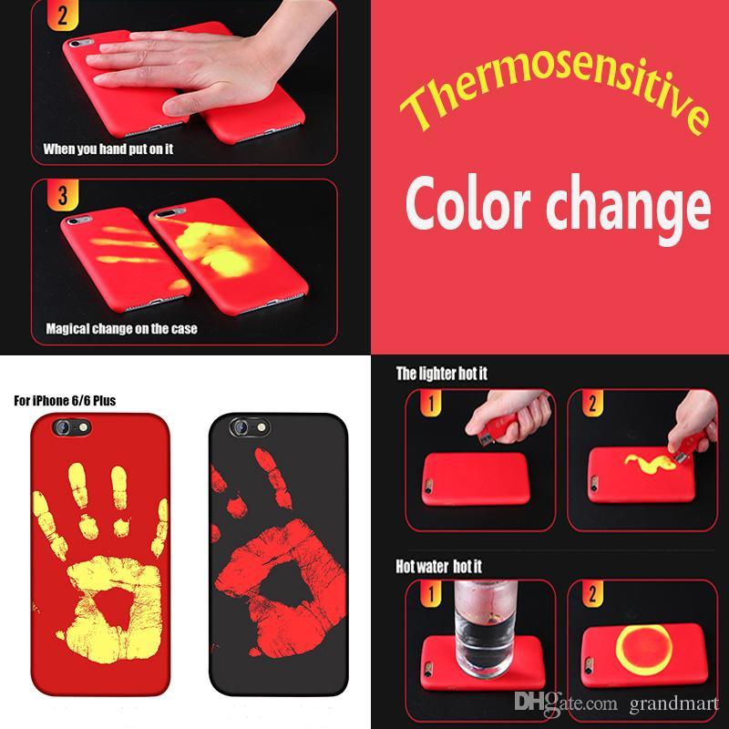 coque qui change de couleur avec la chaleur iphone x