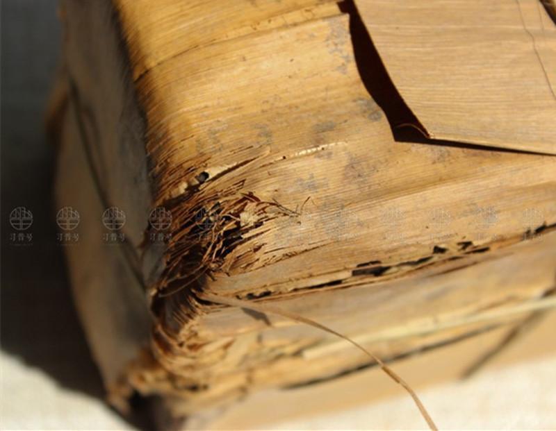 250г Спелая Пуэр чай Юньнань 20лет Ancient Tree Пуэр Чай Органические Pu'er старое дерево Приготовленный пуэр Пуэр Природный Кирпич черный Пуэр чай