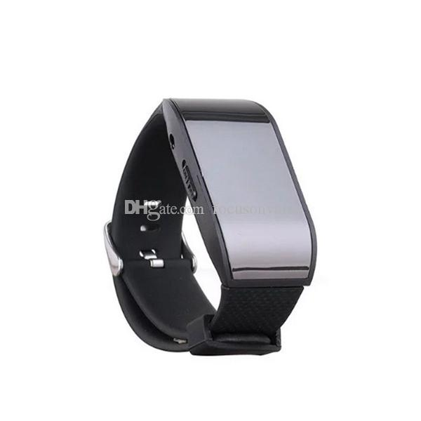 Professional Watch Digital Voice Recorder Wearable Wristband 8GB Voice Recorder with MP3 Sound Dictaphones USB Audio Recorder