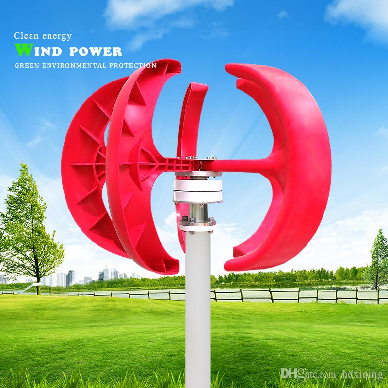Small Vertical Wind Turbine Vawt 200w 12v Ac Made In China