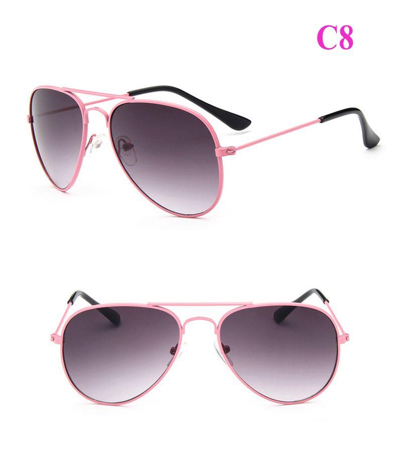 2018 HOT Kids Sunglasses Children Beach Supplies Sunglasses UV protective eyewear baby sunglasses for boys Girls sunshades kids aviator