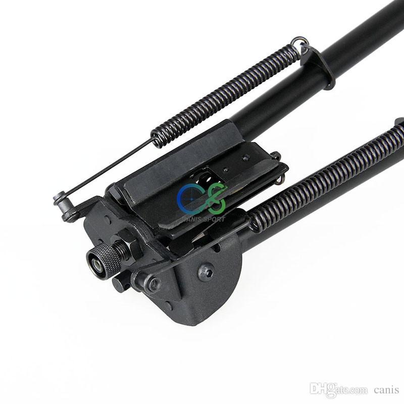 Nuovo arrivo accessorio tattico bipiede tattico da 27 pollici nero gamma di altezza circa 38-63 cm uso esterno CL17-0027