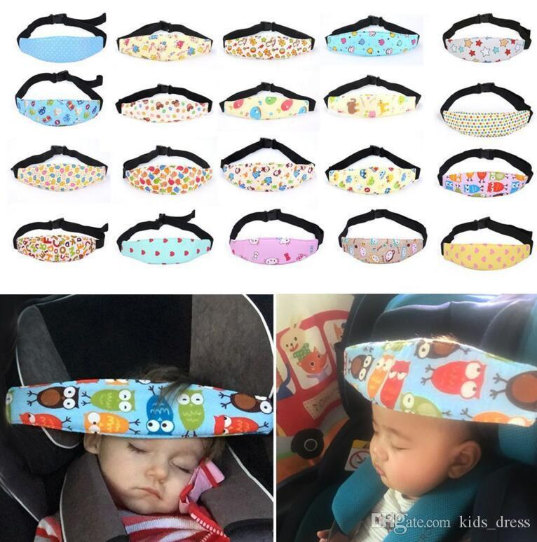 Baby Infant Auto Car Seat Support Belt Safety Sleep Aid Head Holder For Kids Child Baby Sleeping Safety Accessories Baby Care KKA2512