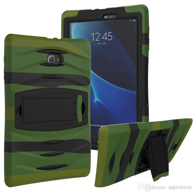 the best attitude 278fb 8aa82 Heavy Duty Military Armor Hybrid Case Cover for Samsung Galaxy Tab T110  T230 T231 T235 T280 T285 4 3 Lite 7.0 inch Shockproof