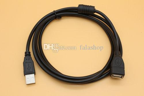 Brand New 1.5M USB extension line male to female data usb cable full copper USB cable for computer