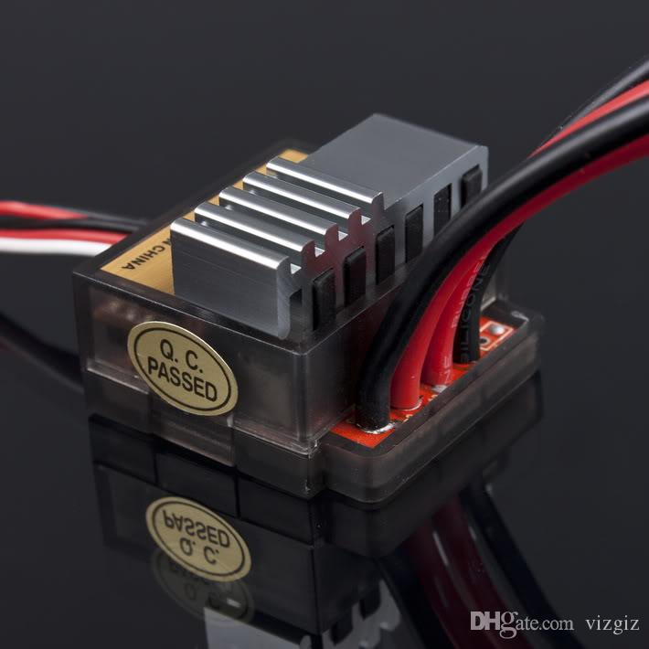 4.8-7.2 V 320A Níquel NiMH Escovado Escova Controlador de Velocidade Elétrica ESC Para RC Car boart 1/8 1/10 Caminhão Buggy