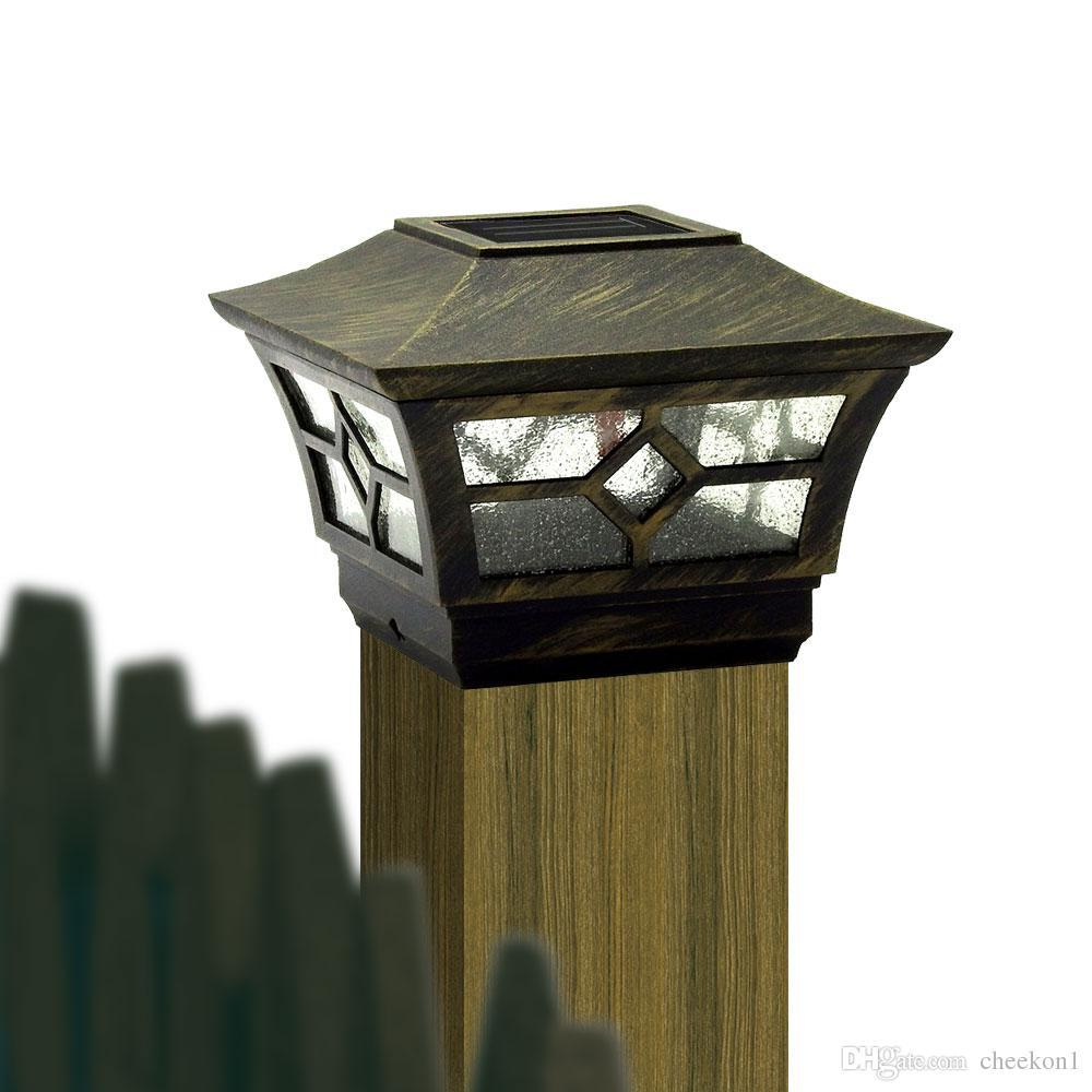 Online Cheap Cheekon Square Fences Post Caps 4 X 4 Solar