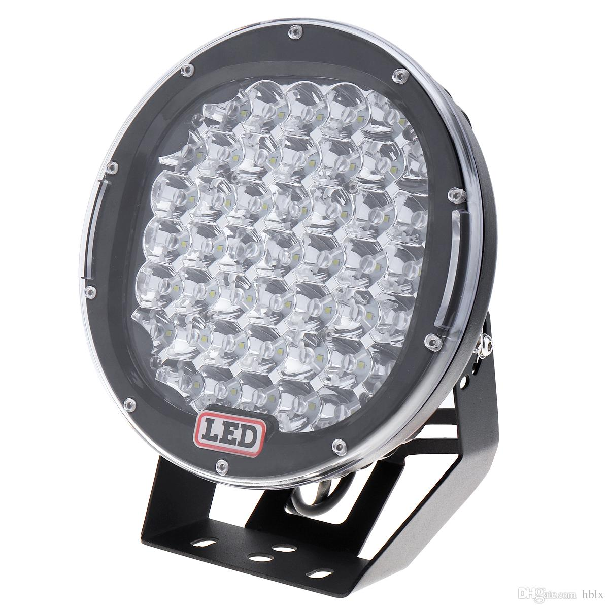 9 Inch Rounded 225W 45x CREE LED Car Worklight Spot / Flood Light Vehicle Driving Lights for Offroad SUV ATV Truck Boat CLT_42R