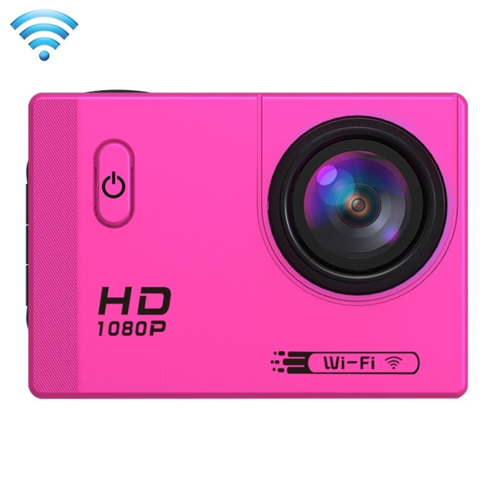 Caméra d'action sport F71 Wifi HD 1080P 2.0inch LCD 12MP 30M étanche 170 degrés de plongée grand angle Cam Shiping gratuit