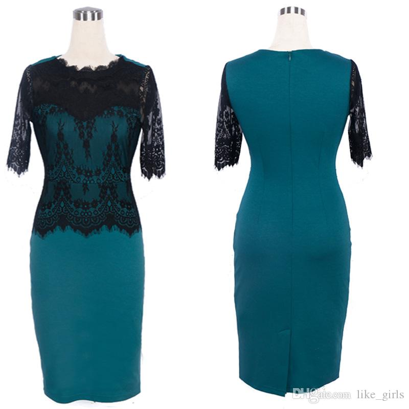 Nova chegada das senhoras vestidos de renda vestidos de renda senhoras calças calças vestidos LX021
