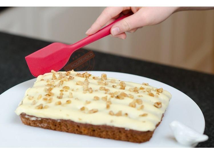 Nouveau gâteau à gâteau au beurre de crème croustillant brosse en silicone