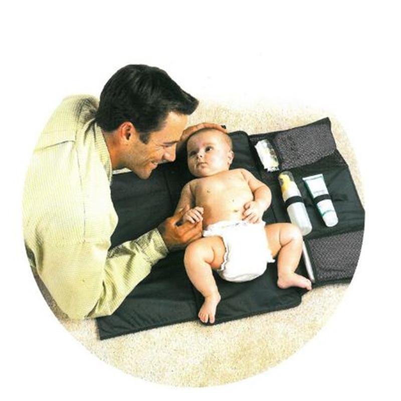 متعددة الوظائف حفاضات الطفل في الهواء الطلق تغيير الحصير والغطاء حفاضات حصيرة قابلة للطي المحمولة للسفر كبيرة الحجم حفاضات منصات kid376