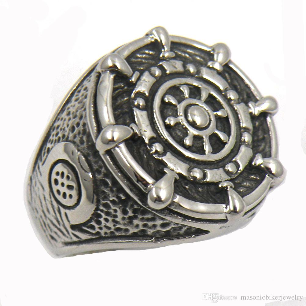 navy scott men spartan rings size shield s amazon dp unkaged silver kay ring com