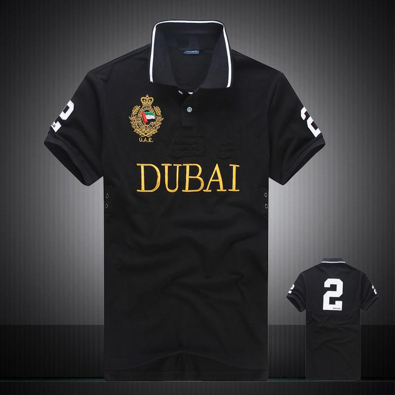 DHL envío PoloShirt hombres manga corta camiseta Miami Nueva York Chicago Los Angeles Dubai barato de alta calidad