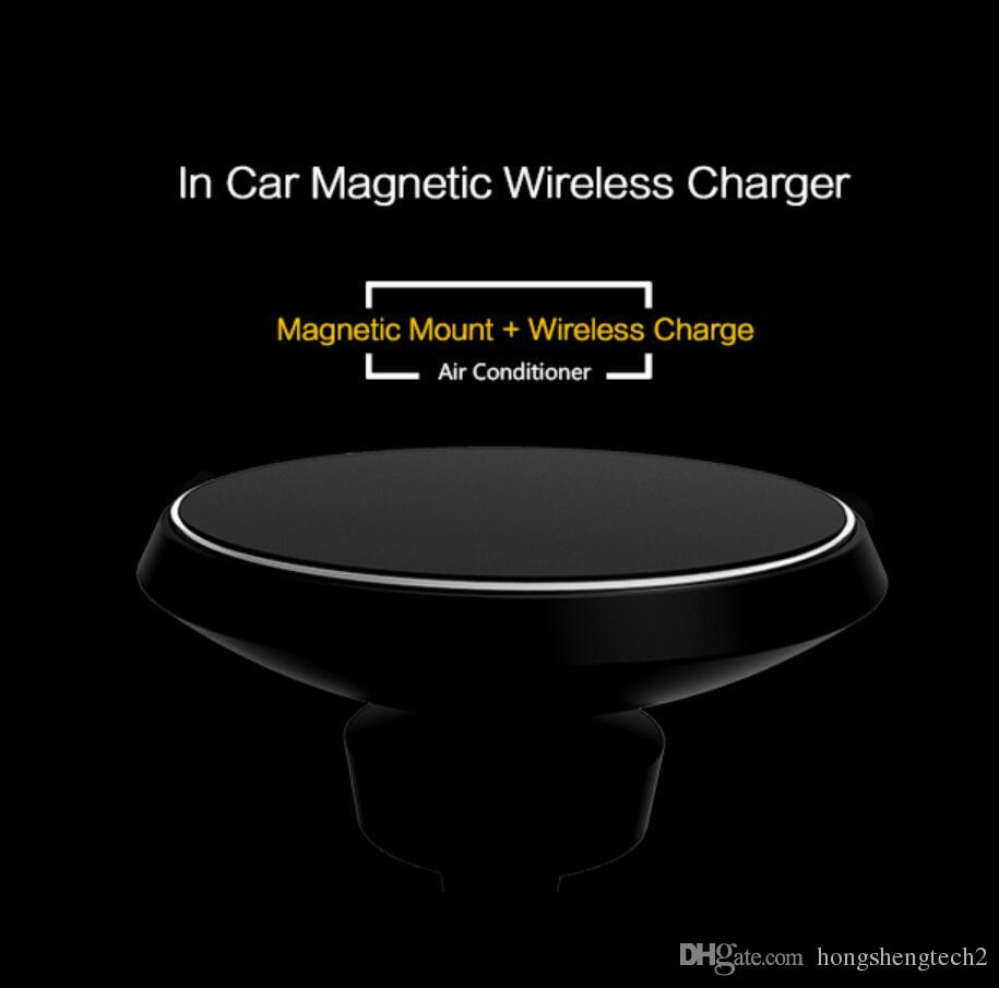 best sellers in usa qi wireless car charger for iphoneX wireless car holder air vent mount for samsung s8
