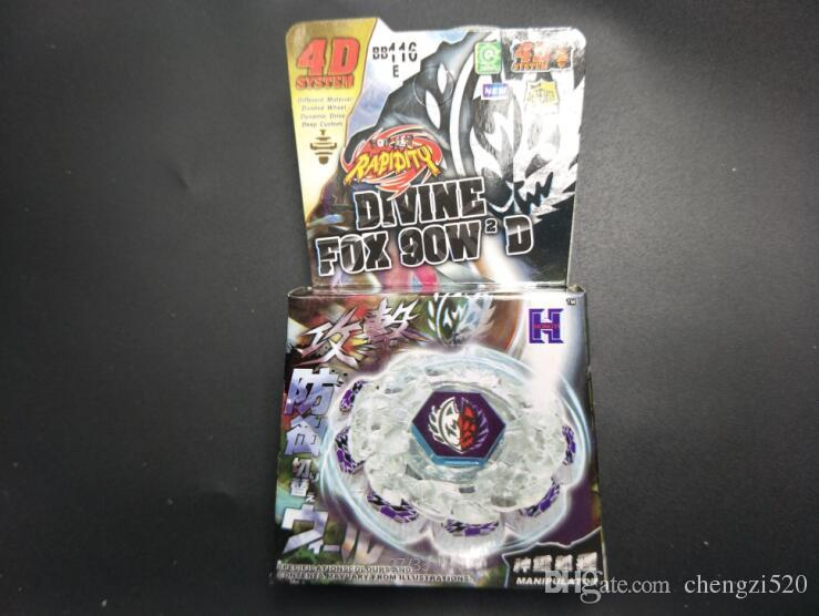 Beyblade BB116E DIVINE FOX 90W2D Metal Fight Top Battle Toys New Beyblade Only WITHOUT LAUNCHER