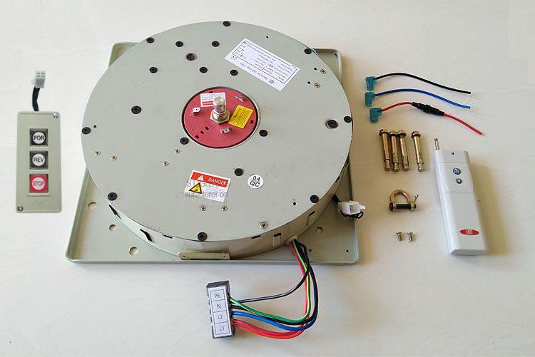 50KG 4M Wall Switch+Remote Controlled Lighting hoist Lifter Chandelier Hoist Lamp Winch Light Lifting System,110V,120V,220V,230V,240V