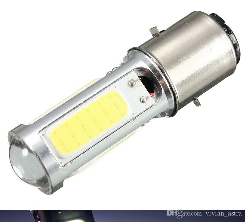 High Quality New Arrival White COB LED Motor Bike/Moped/ATV Headlight Headlamp Bulb Fog Light DRL BA20D H6 E301