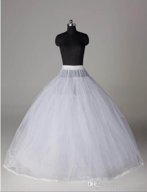 Tulle petticoat for wedding dress