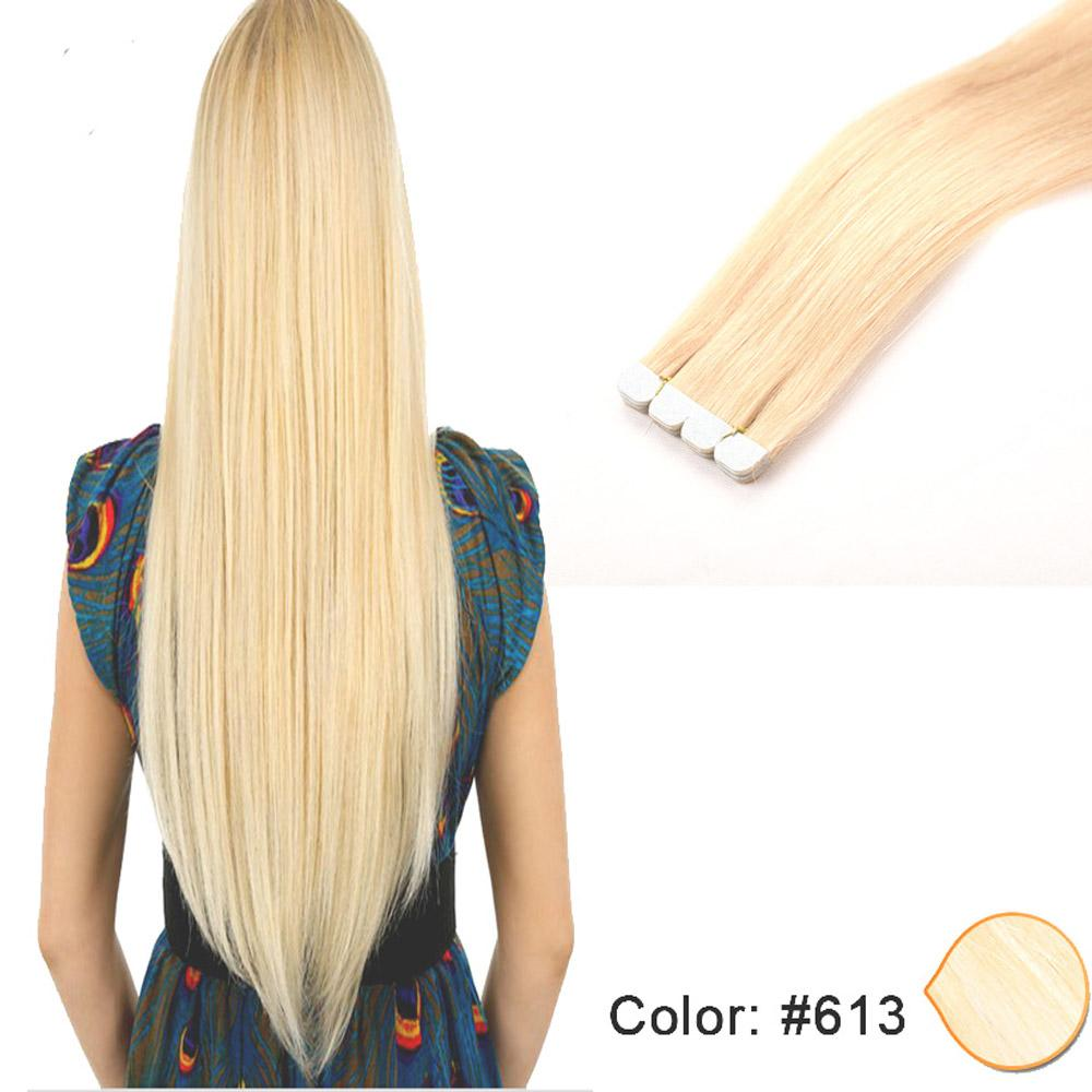 High Quality Tape In Hair Extensions 100 Unprocessed Human Hair