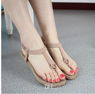 Обувь Сандалии Женщина Гладиатор Сандалии Женщины Вьетнамки Sandalias Обувь Sapato Женщина Для Плоского Sandale Роковой Щипцы Sandales