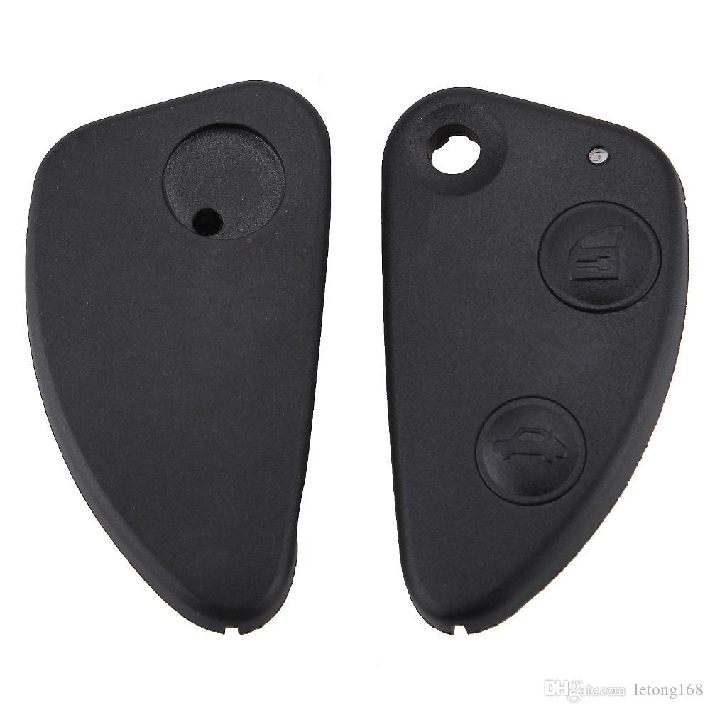 Guaranteed 100% Flip Fob Folding Car Key Shell Case for Alfa Romeo GT Uncut Blade Car NO Chip Keyless Entry Remote Key Case