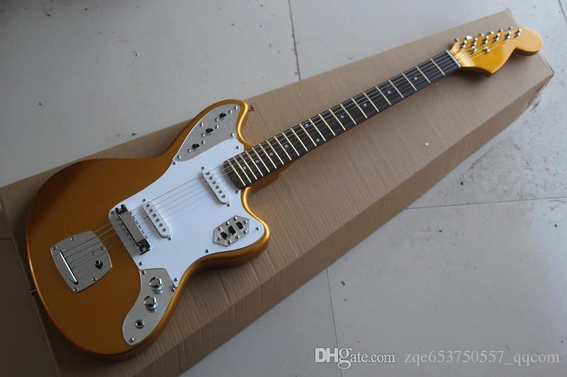 the wholesale 2015 new brand factory customzied electric guitar with the metallic yellow body. Black Bedroom Furniture Sets. Home Design Ideas