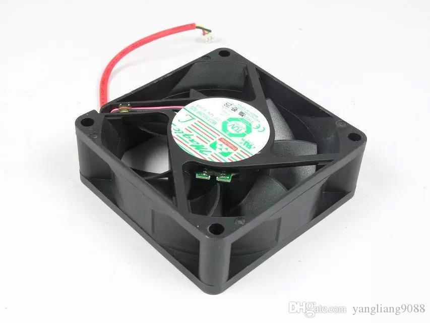 MAGIC MGT7012HF-R25 DC 12V 0.22A 3-Draht 3-poliger Stecker 70mm 70X70X20mm Server Quadratischer Lüfter