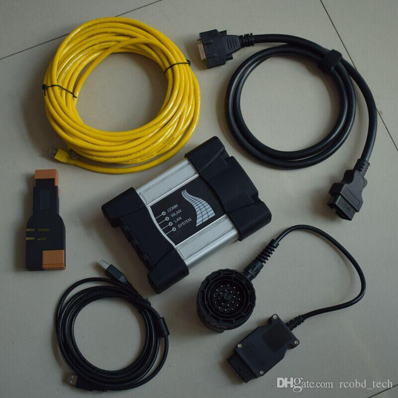 ISTA D/P multi language For BMW ICOM Next Diagnostic & Programming Tool with XPLORE ix104 rugged 4gb Laptop