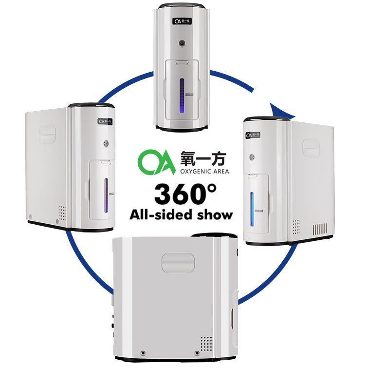 Oxygen Generator 90% di ossigeno ad alta purezza 6L grande flusso Home Auto Usa Mini ossigeno portatile del generatore del concentratore con il controller