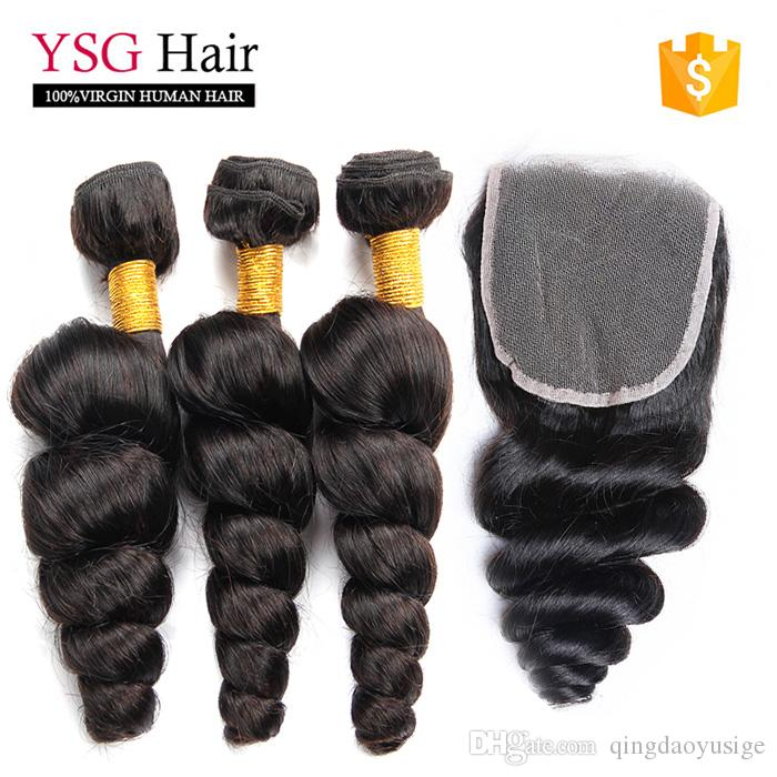 Cheap wholesale double weft loose wave human hair extension cheap wholesale double weft loose wave human hair extension unprocessed malaysia remy human hair weft with lace closure human hair weft extensions human pmusecretfo Gallery