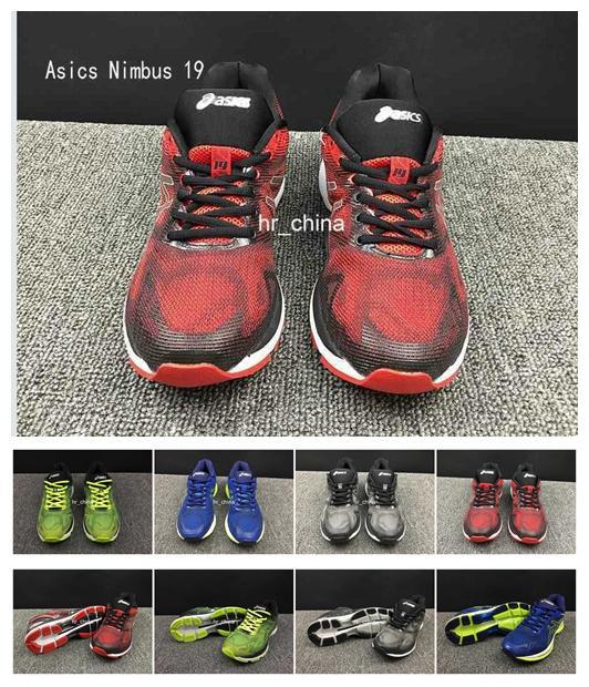 release date: e62aa 236db Acheter 2017 Asics Gel Nimbus 19 Chaussures De Course Pour Hommes En Gros De   116.92 Du Hr china   DHgate.Com