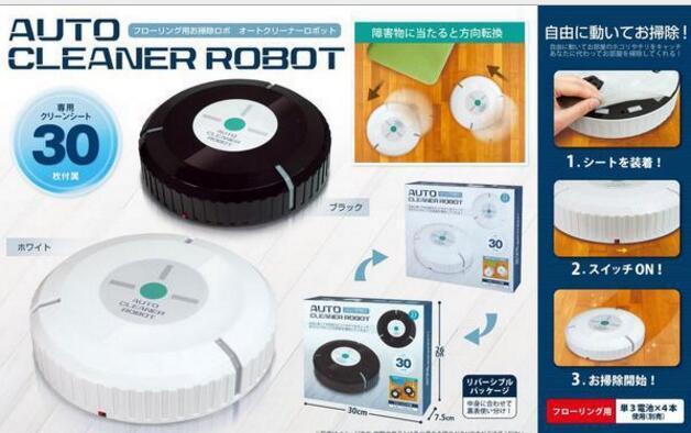 Aspiradora Robot Random Smart Cleaner Limpieza automática del polvo AUTO Cleaner Robot Japón Barrido de juguetes Barredora Lazy